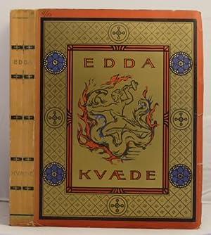 Edda-Kvaede Norrone Fornsongar.: Mortensson-Egnund, Ivar (translator)