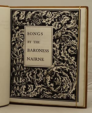 Songs by the Baroness Nairne: Nairne, Carolina