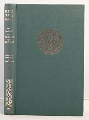 The Poems of Blathmac Son of Cu Brettan, together with the Irish Gospels of Thomas and a Poem on ...