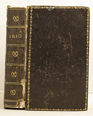 The Edinburgh Almanack, and Imperial Register fir 1813 etc.etc. BOUND WITH Smith's Angus and ...