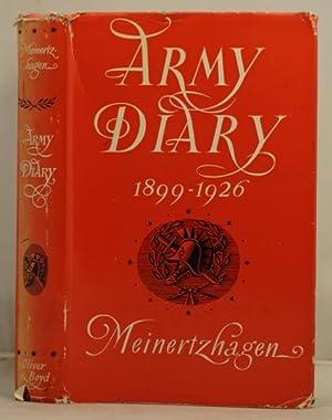 Army Diary 1899-1926: Meinertzhagen, R.