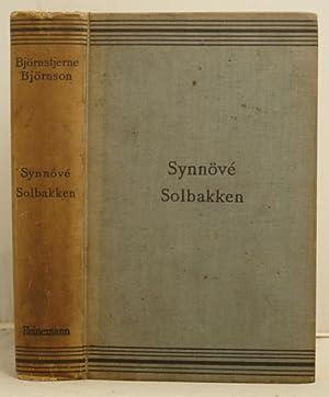 Synnove Solbakken: Bjornson, Bjornstjerne