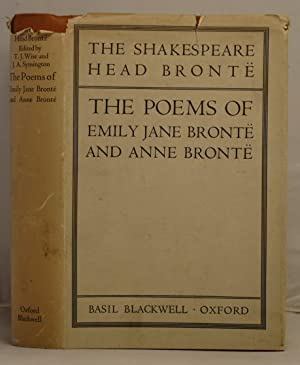 The Poems of Emily Jane Bronte and Anne Bronte: Bronte, Emily Jane and Bronte, Anne