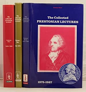 The Collected Prestonian Lectures; vol 1, 1925-1960; vol 2, 1961-1974; vol 3, 1975-1987
