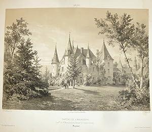 Château de l'Ansaudière, commune de St Martin du Limet, arrondissement de Château Gontier (...