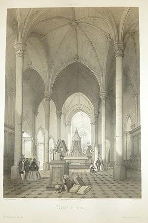 Église St Serge (Lithographie): Wismes, Baron de