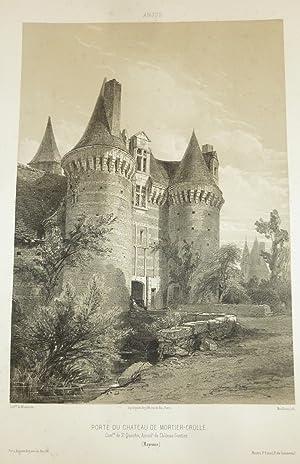 Porte du Château de Mortier-Crolle, commune de: Wismes, Baron de