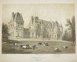 Château du Bourg d'Iré, arrondissement de Segré: Wismes, Baron de