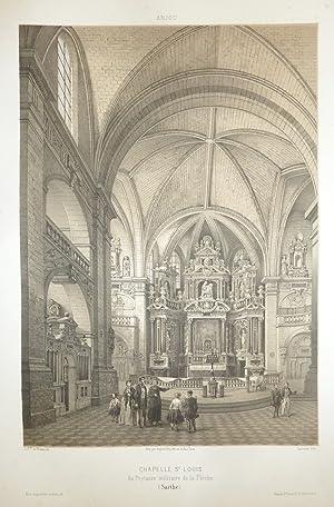 Chapelle St Louis au Prytanée militaire de: Wismes, Baron de