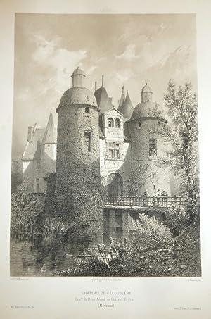 Château de l'Écoublère, commune de Daon, arrondissement: Wismes, Baron de