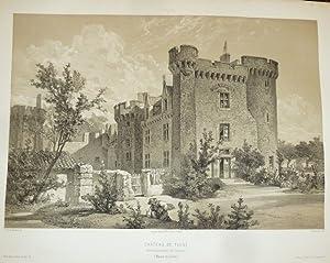 Château de Tigné, arrondissement de Saumur (Maine: Wismes, Baron de