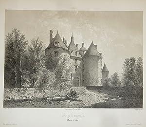 Château de Beaupreau (Maine et Loire) (Lithographie): Wismes, Baron de