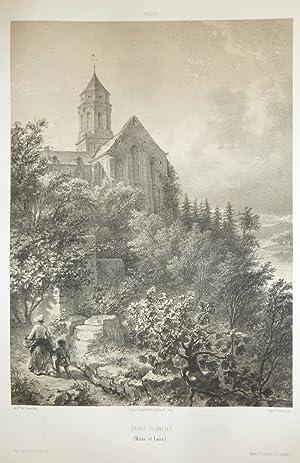 Saint Florent (Maine et Loire) (Lithographie): Wismes, Baron de