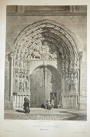 Portail de la Cathédrale d'Angers (Maine et: Wismes, Baron de