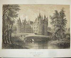 Château de Chanzeaux, arrondissement d'Angers (Maine et: Wismes, Baron de