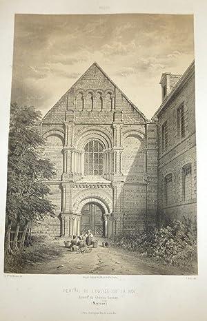 Portail de l'Église de la Roë, arrondissement: Wismes, Baron de