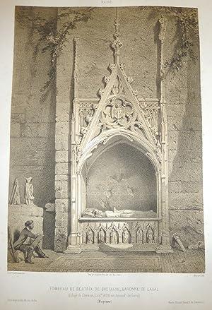 Tombeau de Béatrix de Bretagne, Baronne de: Wismes, Baron de