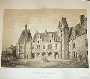 Château du Rocher de Mésanger, arrondissement de: Wismes, Baron de