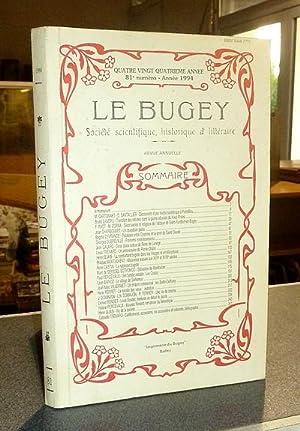 Le Bugey. 84e année, 81e numéro -: Le Bugey. Société