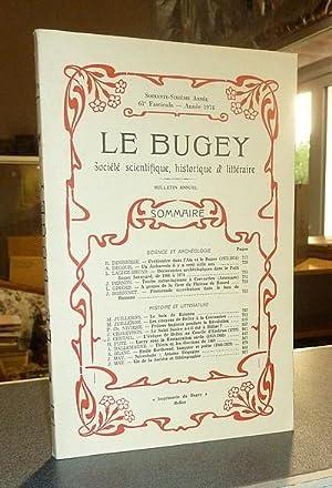 Le Bugey. 66e année, 61e fascicule -: Le Bugey. Société