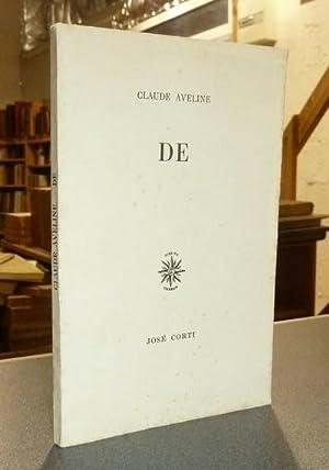 De: Aveline, Claude