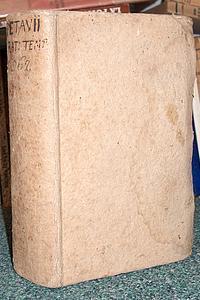 Rationarium Temporum, in quo aetatum omnium sacra: Petavii Dionysii (Petau