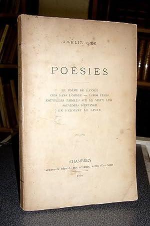 Poésies (1875-1877) - Le poème de l'année: Gex Amélie