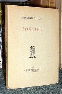 Poésies: Villon François
