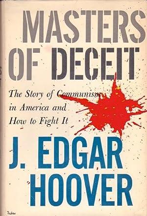 Masters of Deceit: Hoover, J. Edgar