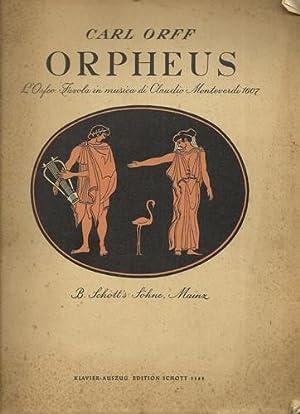 Orpeus: L'Orfeo. Favola in musica di Claudio: Orff, Carl: