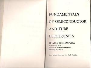 romanowitz alex abebooksfundamentals of semiconductor and tube electronics romanowitz, h alex