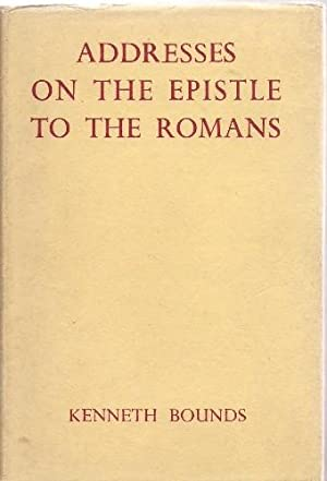 Addresses on the Epistle to the Romans.