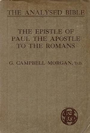 The Epistle of Paul the Apostle to the Romans.