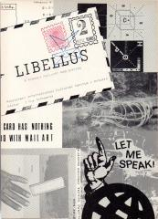 LIBELLUS. A monthly mail-art publication. No. 1: Mail art