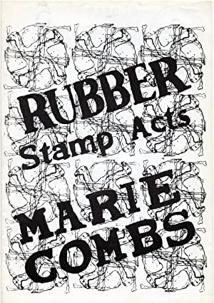 Rubber. A monthly bulletin of Rubbersstamps works. vol. 1 number 5, may 1978. Marie Combs. Rubber...
