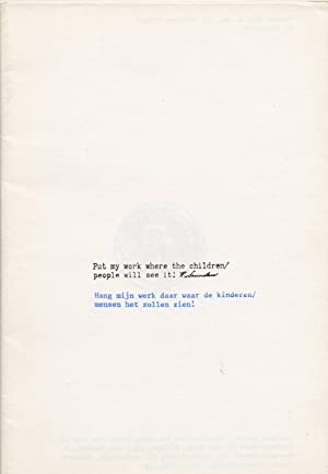Rubber. A monthly bulletin of Rubbersstamps works. vol.2 number 10, october 1979. Richard Saunder...