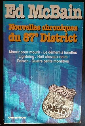Nouvelles Chroniques Du 87e District - Mourir: MacBain Ed