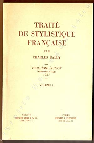 sells hot sale 100% authentic traite stylistique francaise - Used - AbeBooks