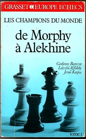 Les champions du monde de Morphy à: Barcza Gedeon Alföldy