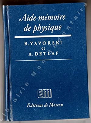Aide-Mémoire de Physique: Yavorsky B. -