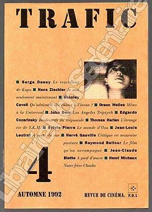 Trafic N° 4Automne 1992: Daney Serge -