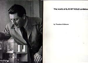 The work of G. Rietveld architect.: Brown, Theodore M.