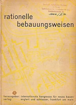 Rationelle Bebauungsweisen.: Giedion, Sigfried. (Einleitung).