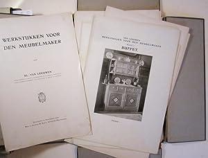 Werkstukken voor den meubelmaker.: Leeuwen, Kl. van.