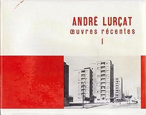 André Lurçat oeuvres récentes I.: Lurçat, André.