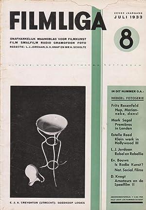 FILMLIGA. 1933, nr.8.: Jordaan,L.J./ Gerard H.