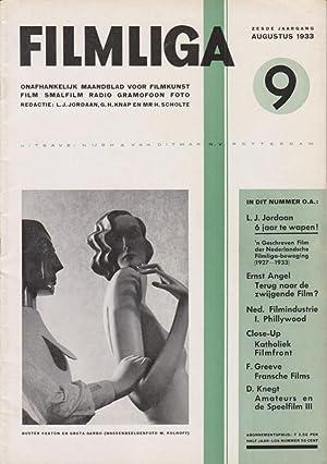 FILMLIGA. 1933, nr. 9.: Jordaan,L.J./ Gerard H.