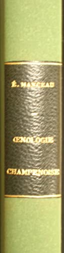 Oenologie Champenoise, Notes et Document: MANCEAU Emille
