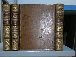 Dictionnaire raisonné Universel D'histoire Naturelle. 4 vol.: VALMONT DE BOMARE