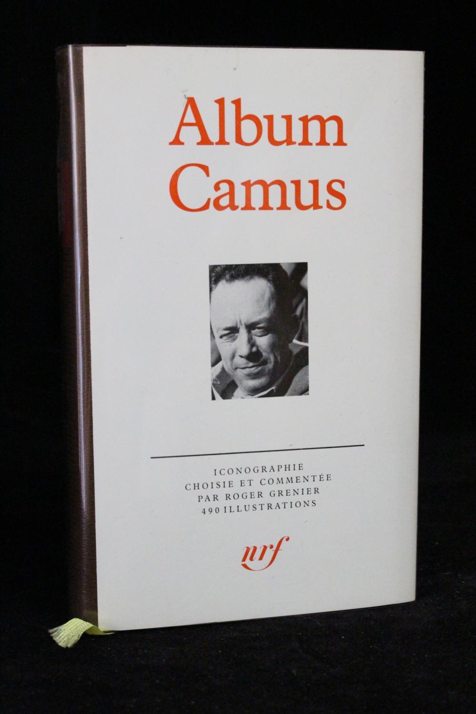 Album Camus (CAMUS Albert) GRENIER Roger Hardcover
